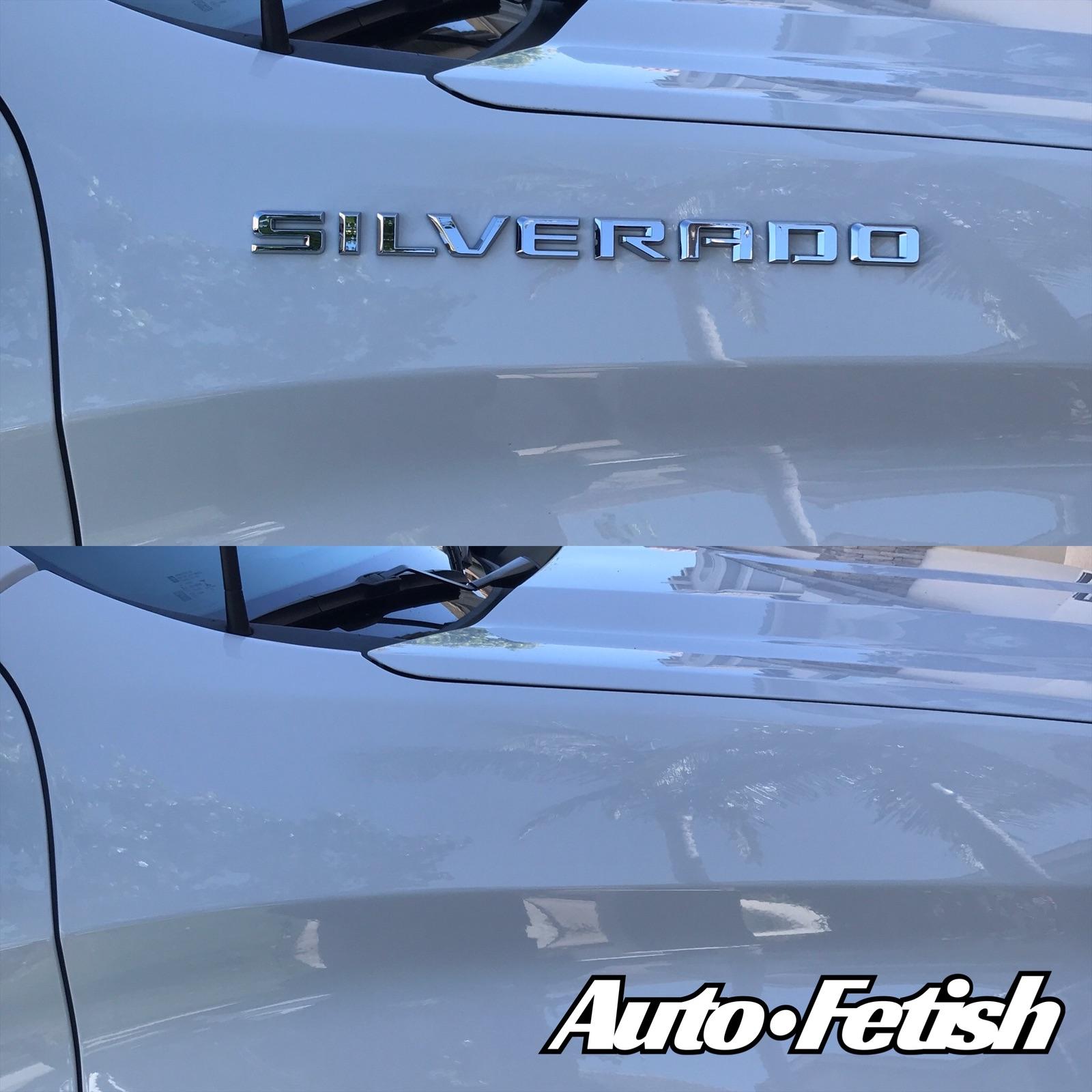 2020 chevy silverado truck debadge