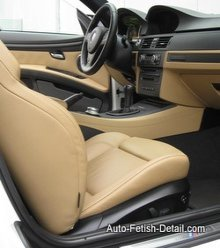 cleaning bmw interior