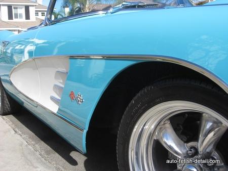 1959 corvette side strakes