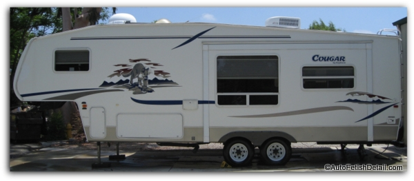 5th wheel RV gelcoat decals