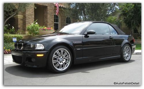 BMW M3 auto detail