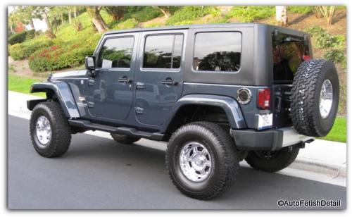Jeep auto detail