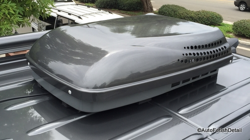 RV A/C roof cover