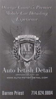 auto fetish detail