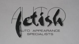 first auto fetish detailing logo