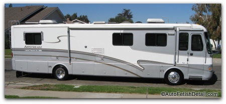 airstream landyacht xl detailing orange county