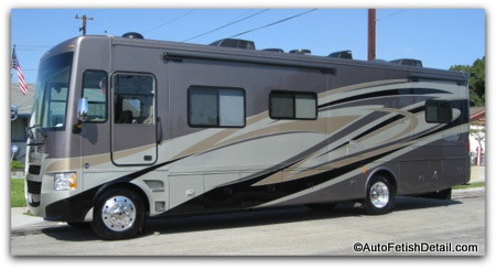 allegro rv motorhome detailing orange county