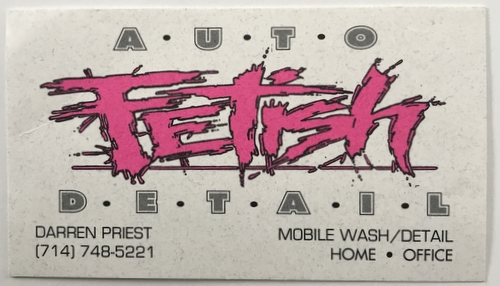 auto fetish logo 1995