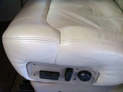 auto leather repair after