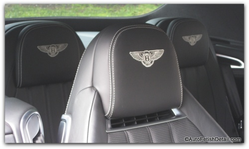 bentley continental gtc detailing