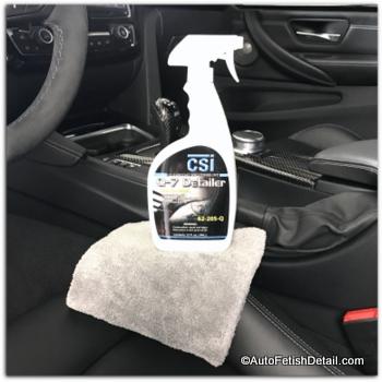 best auto interior quick detailer