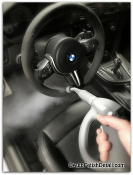 best upholstery steam cleaner cleaning car steering wheel