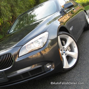 bmw 750li car detail