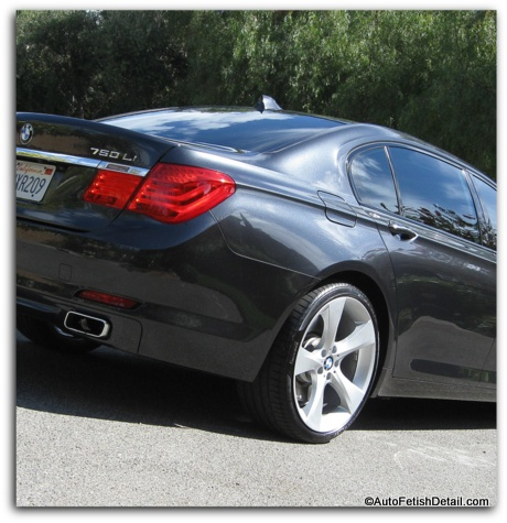BMW auto detailing orange county