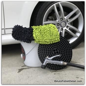 car washing at home