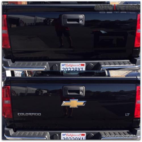 chevy colorado truck debadge