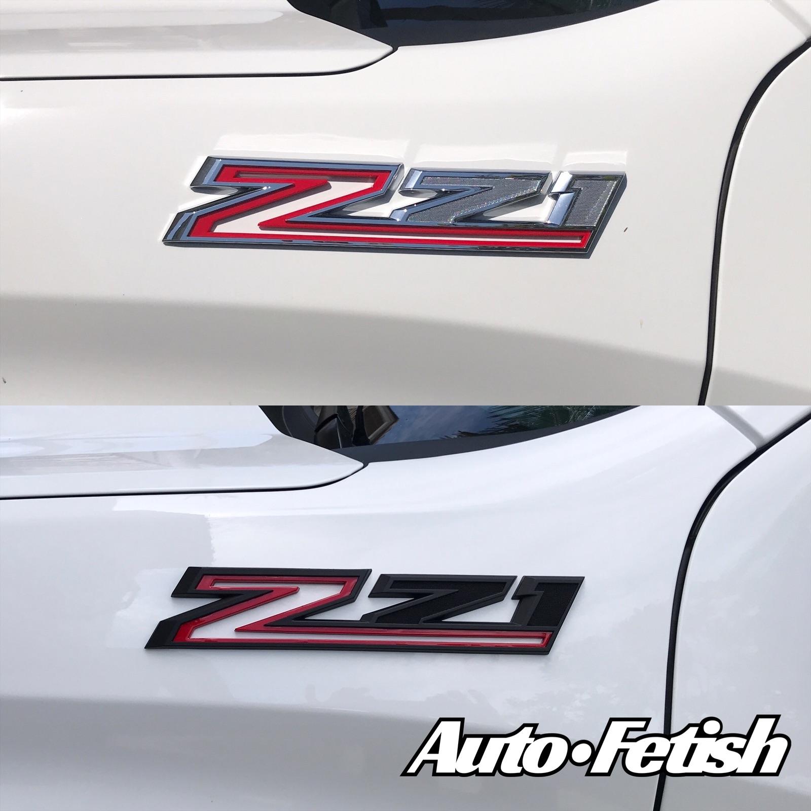 chevy z71 badge swap