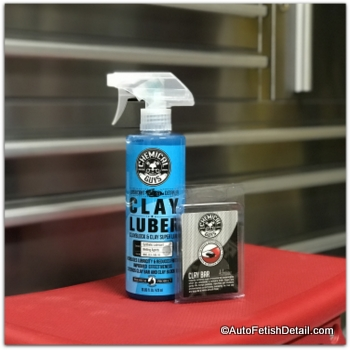 clay bar to decontaminate car paint