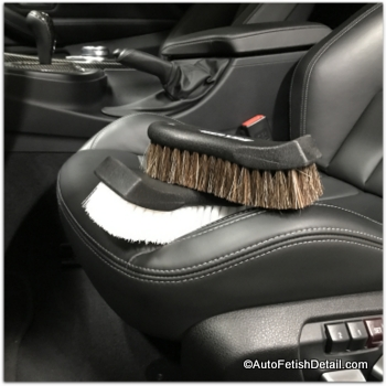 cleaning brushes for car leather interiors