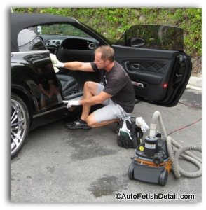 cleaning car upholstery tips