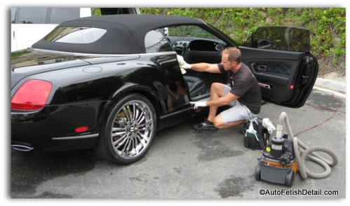 cleaning detailing