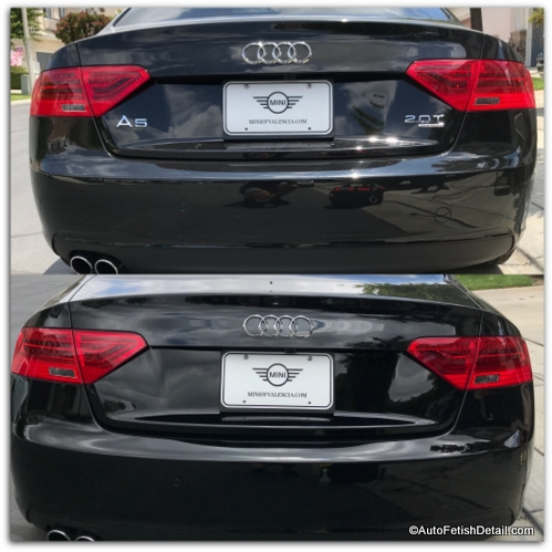 debadging and removing car emblems from audi a5