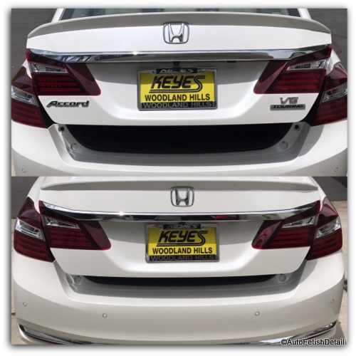 debadging honda accord