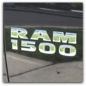 dodge ram 1500 badge removal service