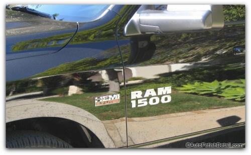 Dodge Ram Badge Removal on Dodge Ram 1500