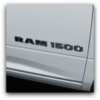 dodge ram 1500 truck badge