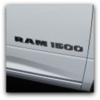 dodge ram 1500 truck badge