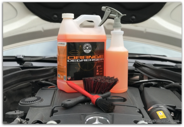 engine degreaser for cleaning RV