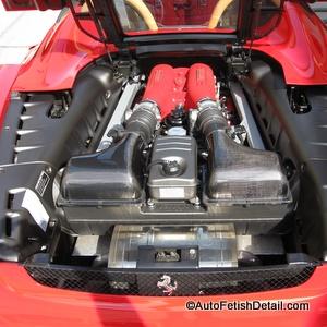 ferrari f430 car detail