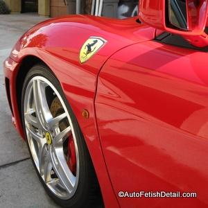 ferrari f430 wheel detail
