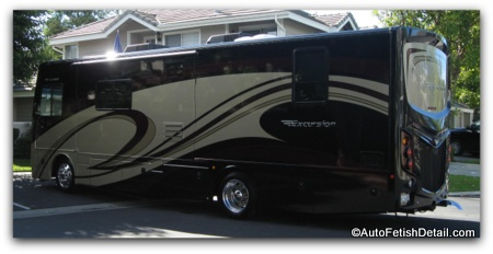 fleetwood excursion rv detailing orange county