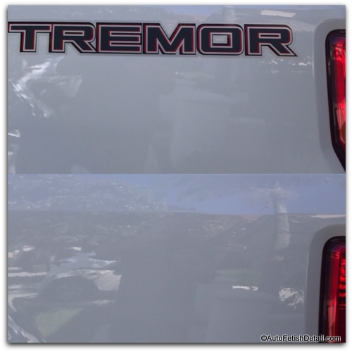 ford superduty tremor truck decal removal