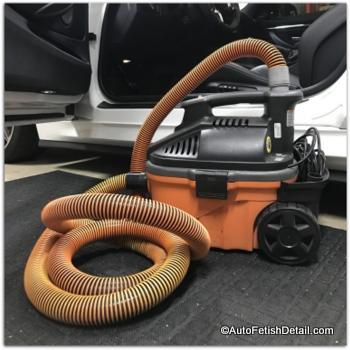 free car upholstery detailing tips using detailing vacuum
