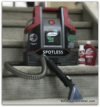 Hoover home carpet cleaning machine