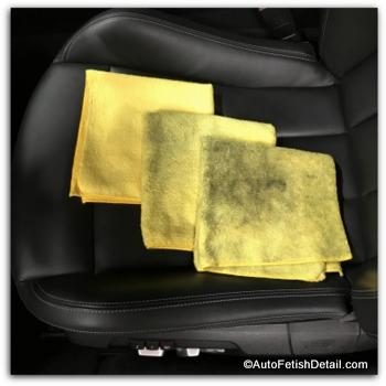 how to clean car interiors using micro fiber cloths