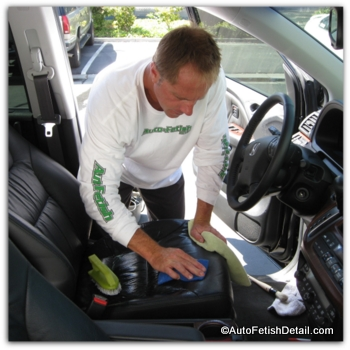 how to clean car interiors