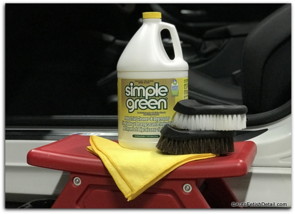 how to clean your car with all purpose cleaner