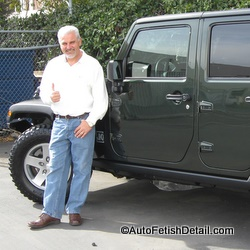 jeep wrangler rubicon detailing