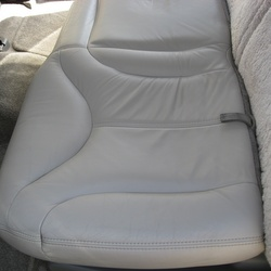 leather car seat covers after cleaning