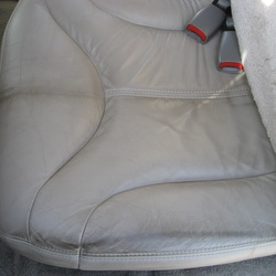 leather car seat covers before cleaning