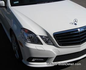 mercedes luxury auto detailing