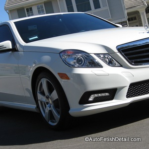 mercedes e350 car detail