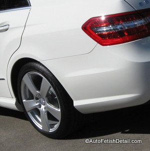 mercedes e350 wheel detail