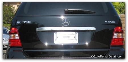 mercedes removing car emblems