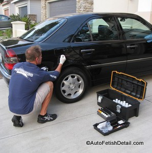 Professional auto paint chip repair of orange county ca for Mobile auto painting
