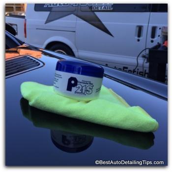 P21s car wax